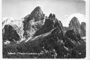 Dolomiti, S. Martino di Costrozza m. 1444, unused real photo, vera fotografia
