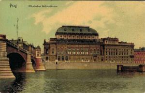 Czech Republic Prag Böhmisches Nationaltheater 02.63