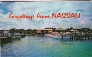 Bahamas Greetings From Nassau Showing The Nassau Yacht Haven