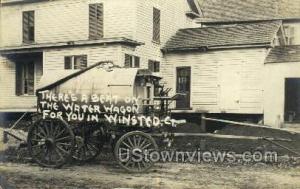 Real Photo Water Wagon