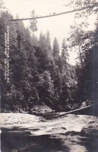 RP, Suspension Bridge, Capilano, British Columbia, Canada, 1920-1940s