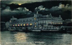 CPA PARIS 7e-Paris la nuit-La nouvelle Gare d'Orléans (327402)