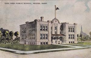 REGINA , Saskatchewan , Canada , 1908 ; Earl Gray Public School