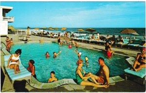 Postcard US New York Montauk Atlantic Terrace Resort