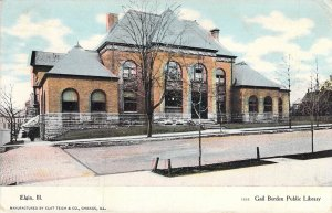 Gail Borden Public Library, Elgin, Ill., Posted 1917