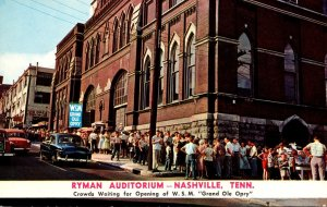 Tennessee Nashville Ryman Auditorium