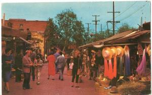 Olvera Street, Los Angeles, 1969 used Postcard