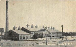 G59/ Randolph New York Postcard c1910 Borden's Condesery Milk Factory