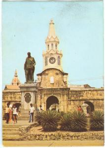 CARTAGENA, Colombia, Monument to Pedro de Heredia and Watch Tower, Postcard