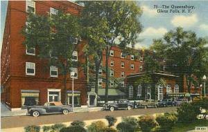 NY, Glens Falls, New York, The Queensbury, Curteich No. 2B-H85
