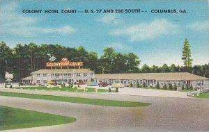 Georgia Columbus Colony Hotel Court