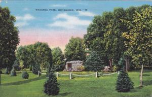 Wakanda Park, Menomonie, Wisconsin, 1930-1940s
