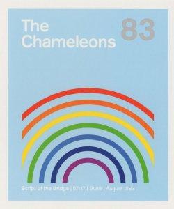 The Chameleons Manchester Punk Rock Script Of The Bridge LP Postcard