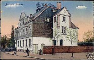 germany, BURSCHEID, Postamt, Post Office (1910s)