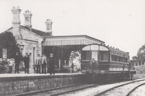 Peterborough Train Engine 43144 at Gayton Road Station in 1959 Railway Postcard