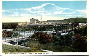 California Salinas The Spreckles Suger Beet Refinery