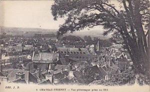 CHATEAU THIERRY, Vue pittoresque prise en 1914, Aisne, France, 10-20s