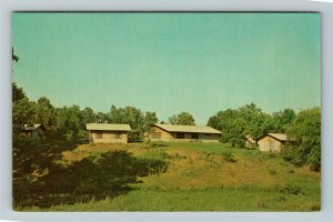 North Webster IN- Indiana, Methodist Camp Adventure, Chrome Postcard