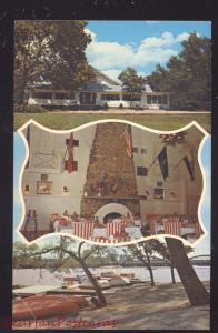 RIVERTON KANSAS SPRING RIVER INN ROUTE 66 RESTAURANT ADVERTISING POSTCARD