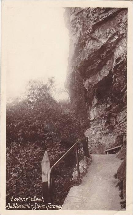 Lover's Seat, Babbacombe Slopes, Torquay (Devon), England, UK, PU-1913