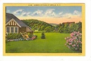 Summer Cottages, Linville, North Carolina, 30-40s