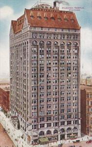 Illinois Chicago Masonic Temple 1914