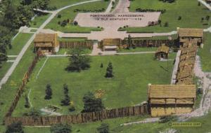 Kentucky Harrodsburg Fort Harrod