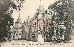 Old Postcard Beaupreau M and L Chateau du Bois du Coin Northwest Coast