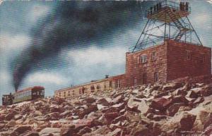 Colorado Station On Summit Of Pike's Peak