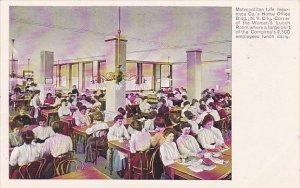 Advertising Metropolitan Life Insurance Company Women's Lunch Room
