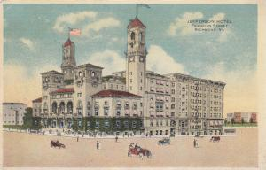 RICHMOND, Virginia, 1917 ; Jefferson Hotel