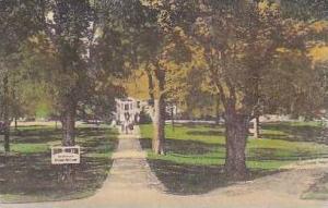 Vermont Manchester Burr and Burton Seminary Albertype