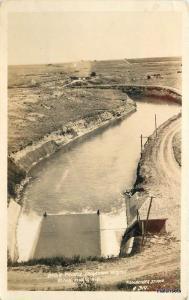 1940s Belle Fourch Irrigation Project Black Hills South Dakota Fassbender RPPC