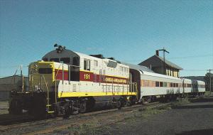 Tioga Scenic Railroad GMD GP9 Locomotive Number 151