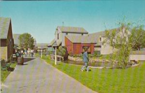 Connecticut Olde Mistick Village Showing Gristmill Building