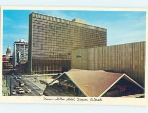 Unused Pre-1980 HILTON HOTEL Denver Colorado CO c0540