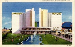 IL - Chicago. 1933 World's Fair, Century of Progress. Chrysler Building
