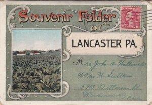 LANCASTER , Pennsylvania, PU-1921 ; Folder Postcard