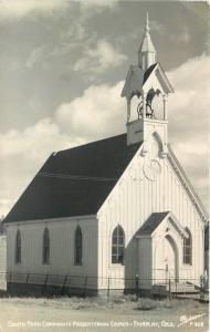 1948 Fairplay Colorado South Park Community Presbyterian Church RPPC 1004