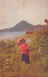Guatemala, Central America, Republica de Guatemala Lago de Atitlan  Lago de A...