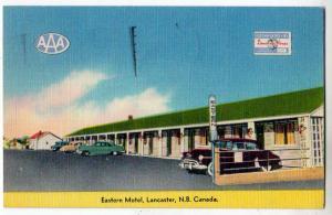 Eastern Motel, Lancaster NB