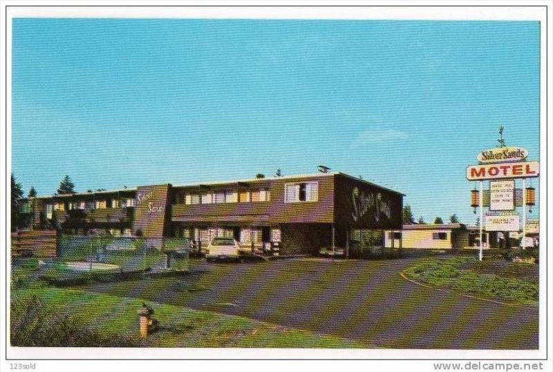 Florence Oregon Silver Sands Motel Hotel 50´s 60´