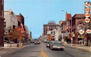 Fond Du Lac, Wisconsin, Street Scene, Postcard, Unused