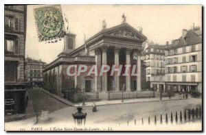 Postcard Old Paris The Church of Our Lady of Loreto