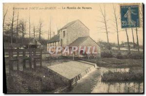 Postcard Old water mill surroundings Jouy sur Morin The mill Nevers