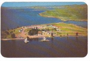 Seney Point Fishing Resort, Lake DeSmet, Buffalo, Wyoming, 40-60s