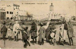 CPA AK Casablanca - Vue sur la Mer MAROC (963417)