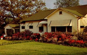 Mississippi McComb Residence With Azaleas In Bloom