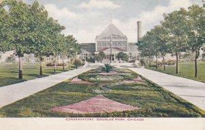 CHICAGO, Illinois, PU-1918; Conservatory, Douglas Park