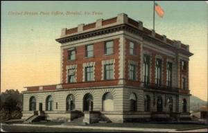 Bristol VA TN US Post Office c1910 Postcard